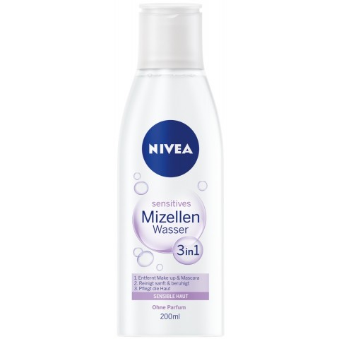 Nivea Sensitives Mizellen Wasser 3 in 1