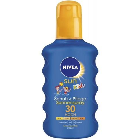 Nivea Sun Kids Pflegendes Sonnenspray LSF 30