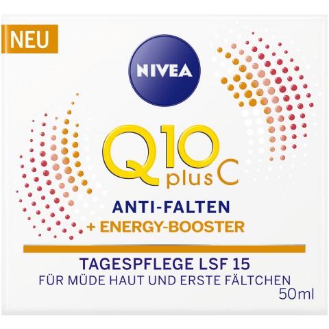 Nivea Q10 Plus C Anti-Falten + Energy-Booster Tagespflege LSF 15