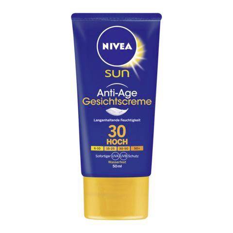 Nivea Sun Anti-Age Gesichtscreme LSF 30 50 ml