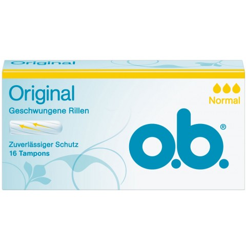o.b.Original Tampons Normal 16ST