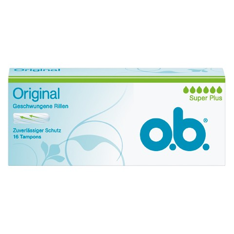 o.b. Original Tampons Super Plus