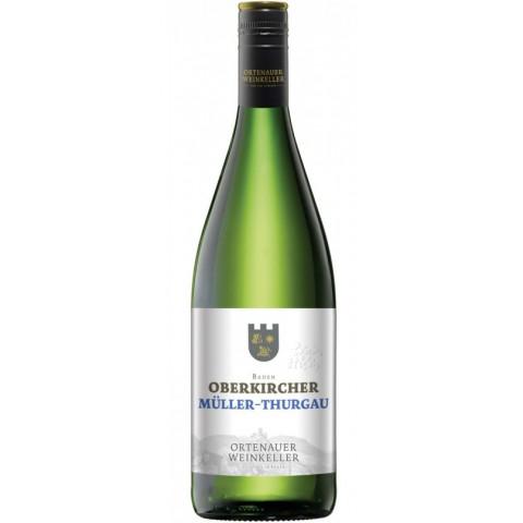 Ortenauer Weinkeller Oberkircher Müller-Thurgau Weißwein 2017 1 ltr