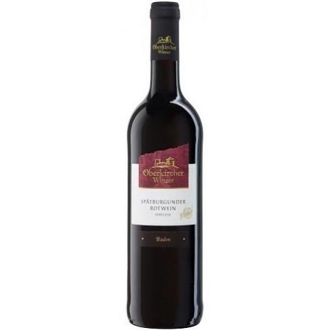 Oberkircher Spätburgunder Rotwein Spätlese 2016 0,75 ltr