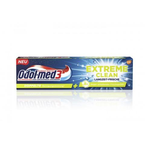 Odol Med 3 Zahncreme Extreme Clean Langzeit-Frische 75 ml