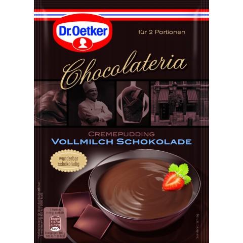 Dr.Oetker Chocolateria Cremepudding Vollmilch Schokolade