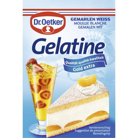 Dr.Oetker Gelatine gemahlen weiss Gold extra 3x 9 g
