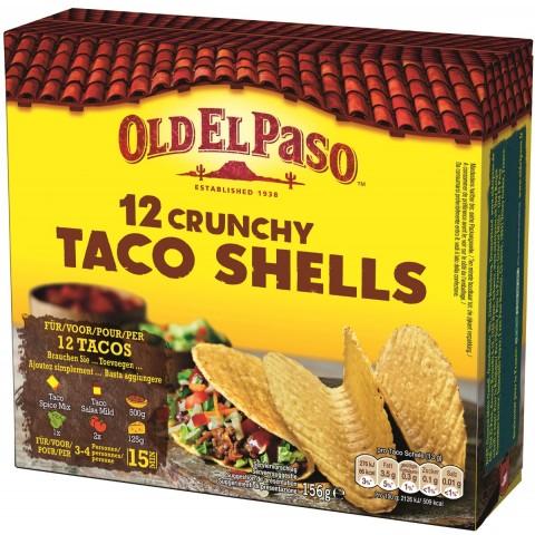 Old El Paso 12 Crunchy Taco Shells
