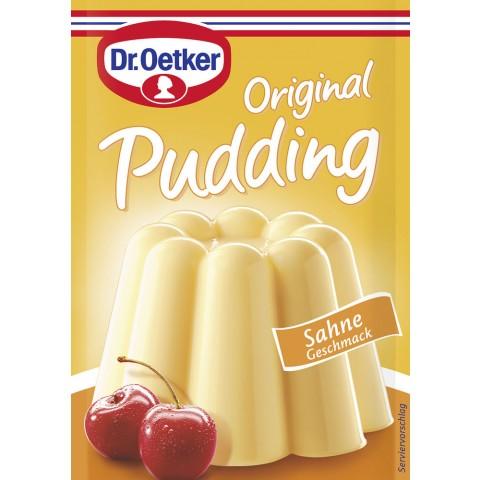 Dr.Oetker Original Puddingpulver Sahne Geschmack