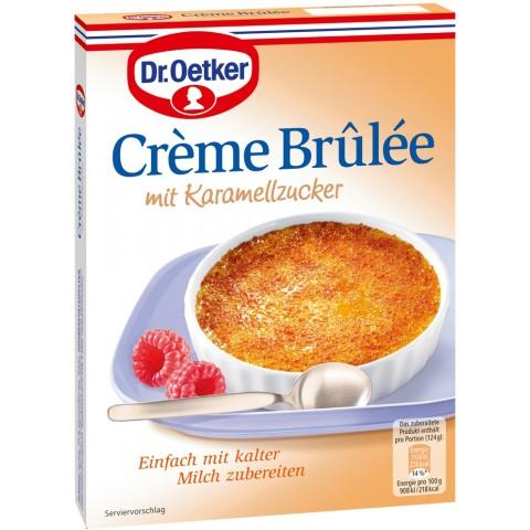Dr.Oetker Crème Brûlée mit Karamellzucker 96 g