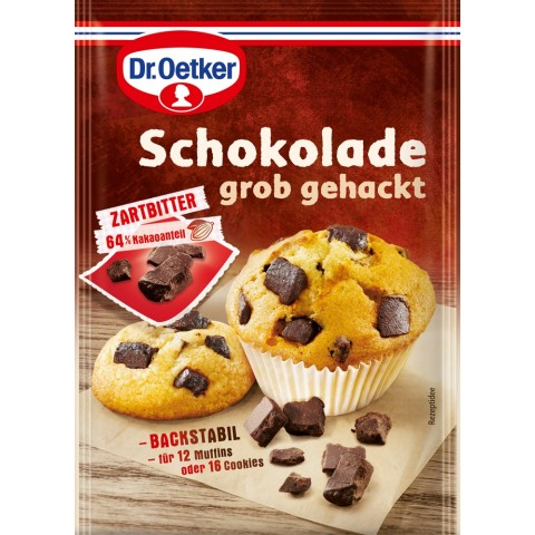 Dr.Oetker Schokolade grob gehackt 100 g