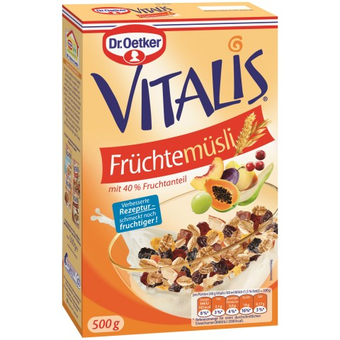 Dr.Oetker Vitalis Früchtemüsli