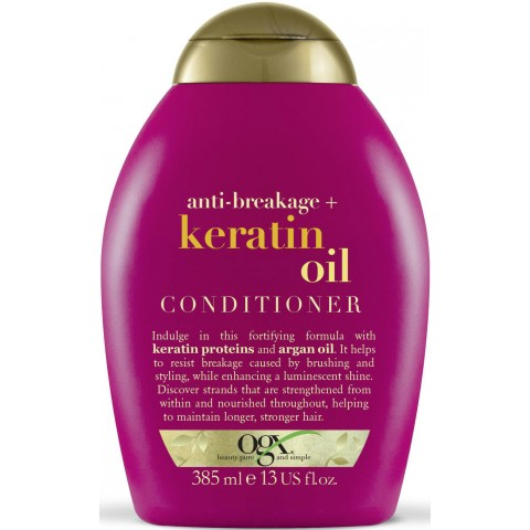 OGX Anti Breakage Keratin Oil Conditioner 385 ml