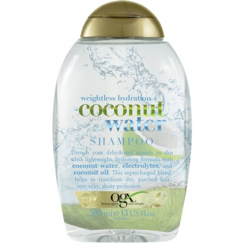 OGX Weightless Hydration Coconut Water Shampoo 385 ml