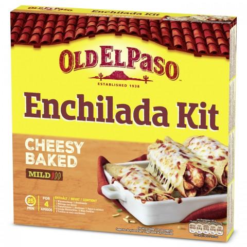 Old El Paso Enchilada Kit Cheesy Baked