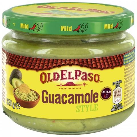Old El Paso Guacamole Style Dip 320 ml