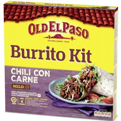 Old El Paso Chili Con Carne Burrito Kit