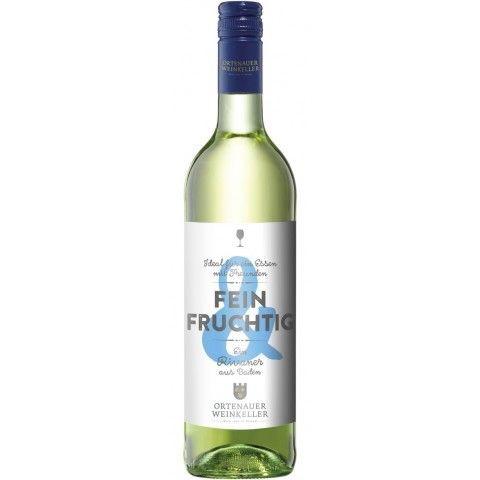Ortenauer Weinkeller Fein & Fruchtig Rivaner feinherb 2019 0,75L