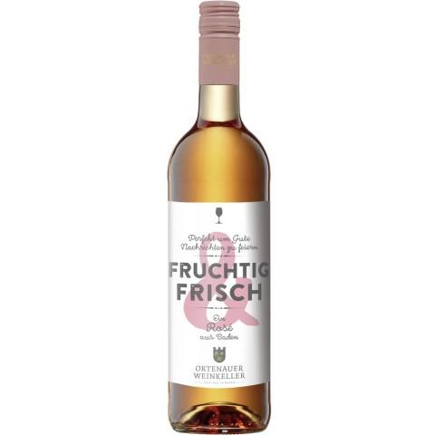 Ortenauer Weinkeller Fruchtig & Frisch Rosé feinherb 2019 0,75L