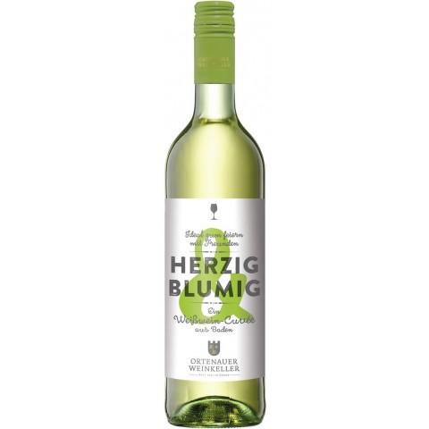 Ortenauer Weinkeller Herzig & Blumig Weißwein Cuvée feinherb 2018 0,75 ltr