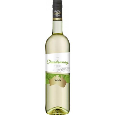 OverSeas Australien Chardonnay Weißwein 2017 0,75 ltr