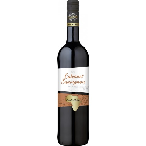 OverSeas Südafrika Cabernet Sauvignon Rotwein 2017 0,75 ltr