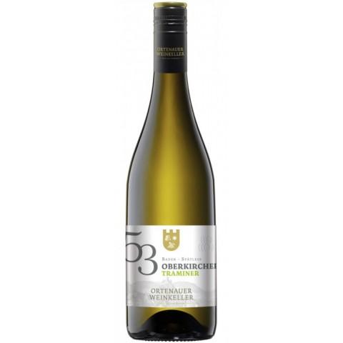 Ortenauer Weinkeller Oberkircher Traminer Spätlese 2017 0,75 ltr
