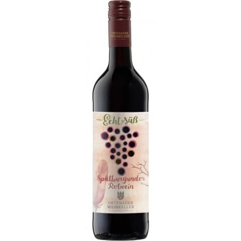 Ortenauer Weinkeller Echt Süß Spätburgunder Rotwein 0,75 ltr