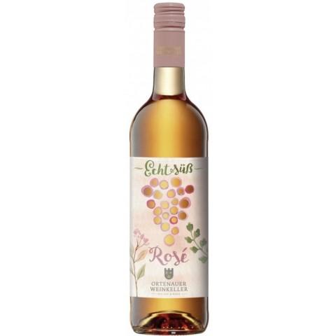 Ortenauer Weinkeller Echt Süß Rosé 2015 0,75 ltr