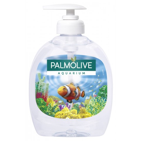Palmolive Flüssigseife Aquarium im Spender