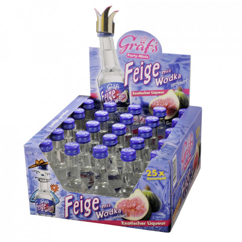 Gräf's Party-Minis Wodka Feige 25x 20ml