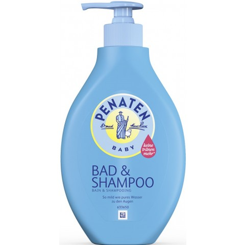 Penaten Baby Bad & Shampoo Kopf bis Fuß