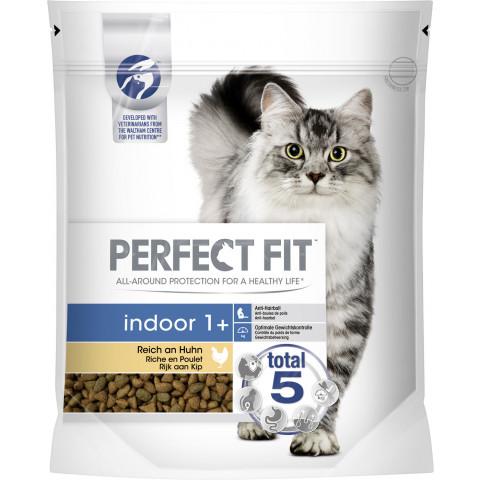 Perfect Fit indoor 1+ Reich an Huhn Katzenfutter trocken 0,75 kg