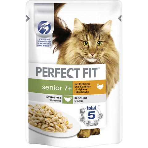 Perfect Fit Senior 7+ Pute Katzenfutter nass 85G