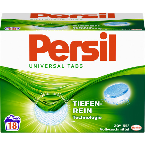 Persil Universal Tabs 1,116KG 18WL