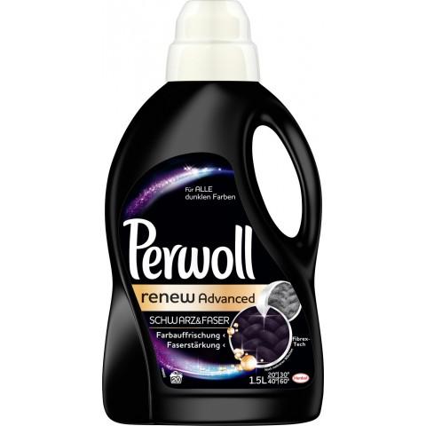Perwoll Renew Advanced Schwarz & Faser 1,5 ltr 20 WL