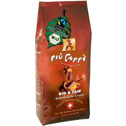 Piu Caffe Schümli Bio & Fair ganze Bohnen