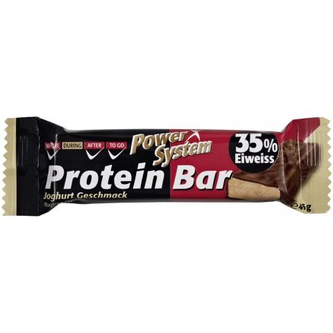 Power System Protein Bar Joghurt Geschmack 35% Eiweiss 45 g