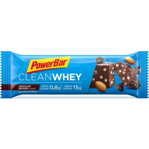 PowerBar Riegel Clean Whey Chocolate Brownie 45 g