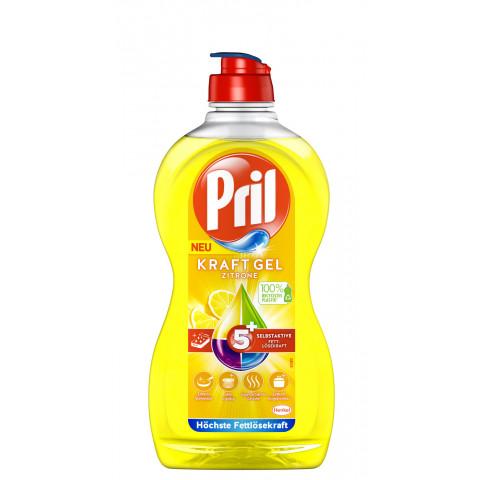 Pril Kraft-Gel Zitrone 5+ Handspülmittel 450ML