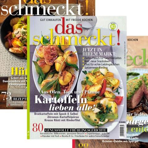 EDEKA das schmeckt Heft aktuelle Ausgabe