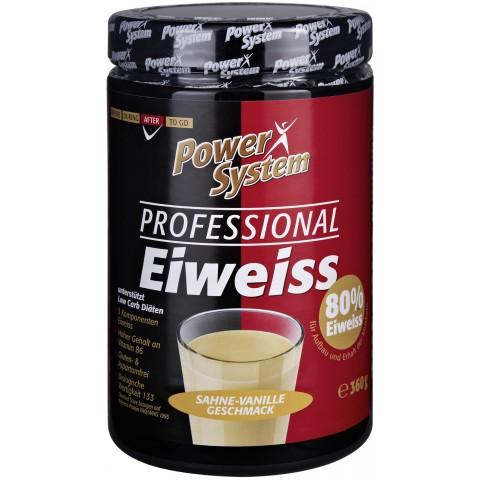 Power System Professional Eiweiss Sahne-Vanille Geschmack 80% Eiweiss
