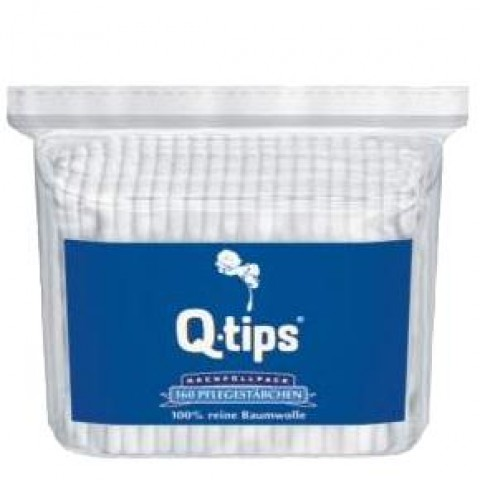 Q-Tips Wattestäbchen 160er Nachfüllpack