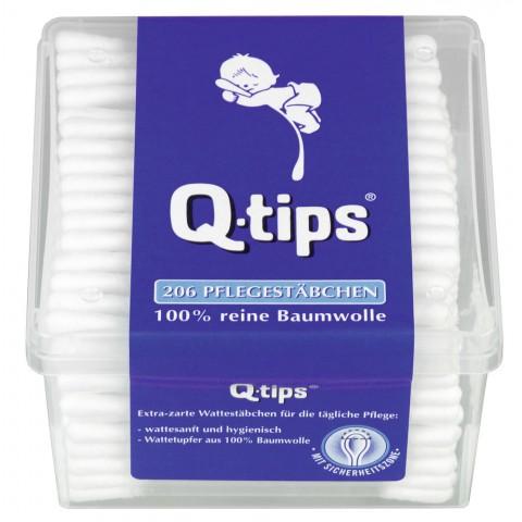 Q-Tips Wattestäbchen 206er Box