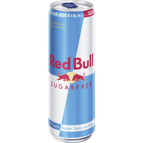 Red Bull Energydrink Sugarfree 0,355L
