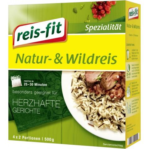 Reis-Fit Natur- & Wildreis im Kochbeutel 25-30 Minuten