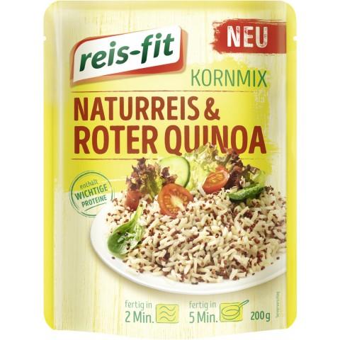 Reis-Fit Kornmix Naturreis & Roter Quinoa