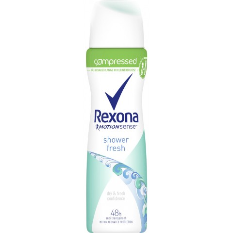 Rexona Shower Fresh Anti-Transpirant Compressed Spray 75 ml