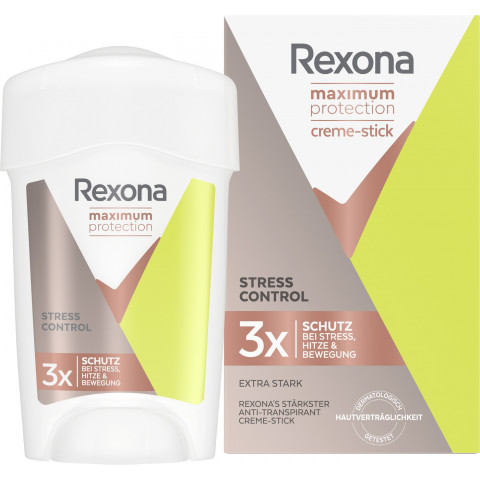 Rexona Max Protection Stress Control Anti-Transpirant Creme Stick 45 ml