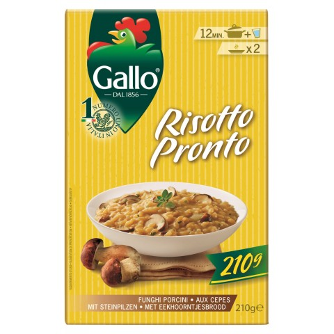 Gallo Risotto Pronto mit Steinpilzen